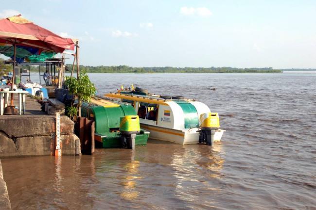 Declarada 'alerta naranja' por aumento del caudal del Río Magdalena