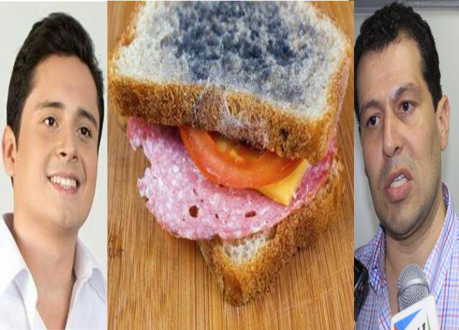 30 intoxicados por consumo de sándwich en un evento político.