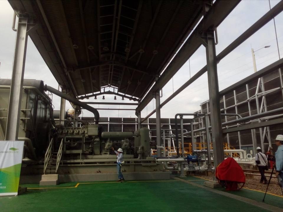 'Promigas' inaugura planta de gas natural en El Llanito