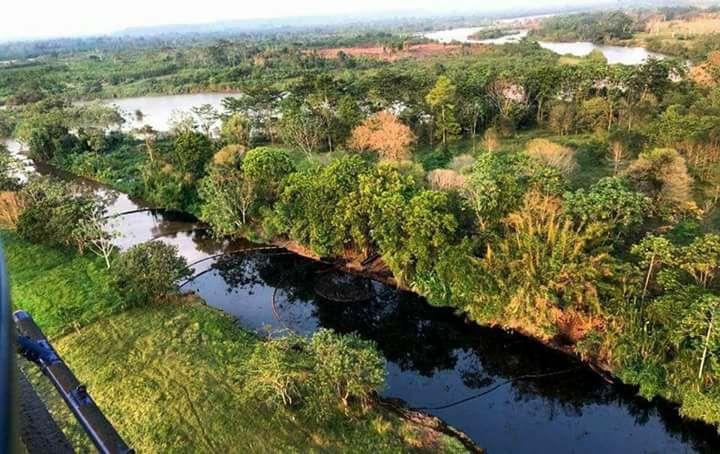 Nueva emergencia explosión de otro pozo en la zona de Lizama