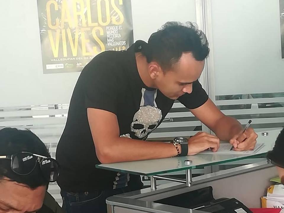 Jairo Andrés de la Ossa confía ganar la corona de 'Rey Profesional' en Valledupar