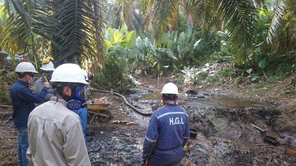 Ecopetrol multado por el afloramiento del pozo Lisama 158