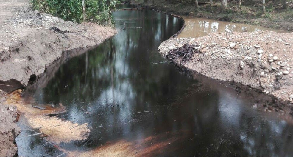Ecopetrol explica por qué hay nuevas emanaciones de crudo cerca al Pozo 158