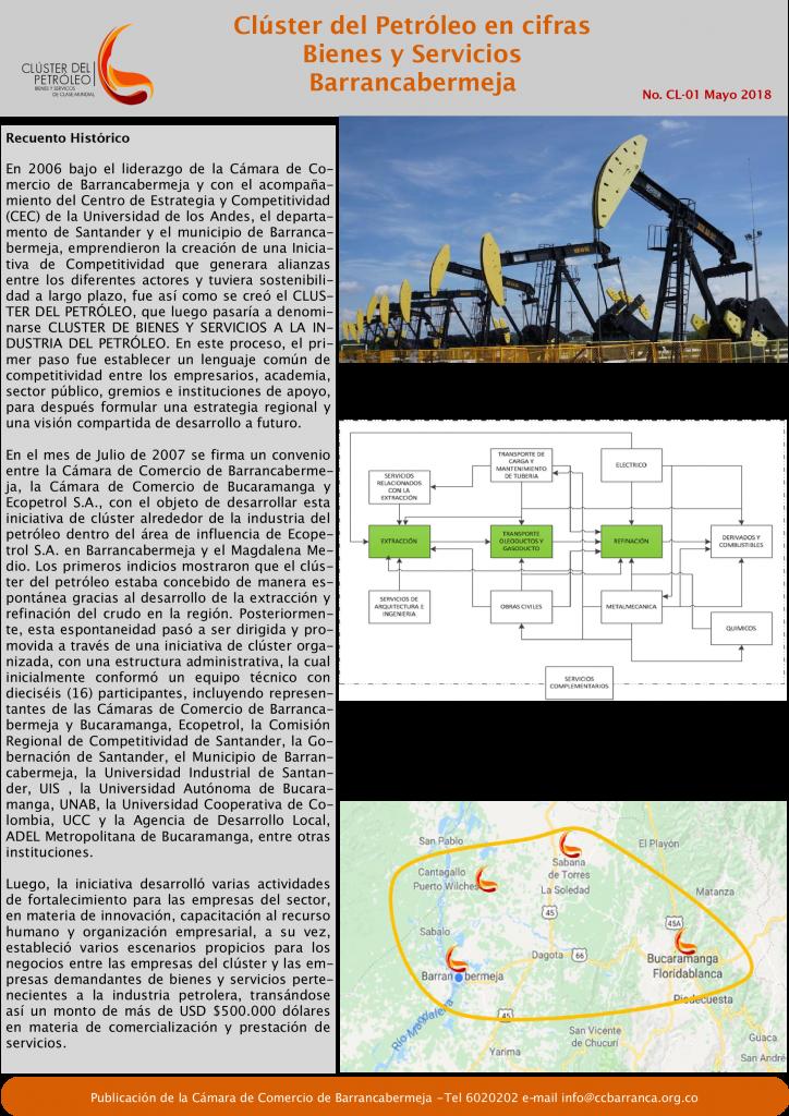 """""""Clúster en Cifras"""" cómo están las empresas que hacen parte del sector petrolero en Barrancabermeja."""