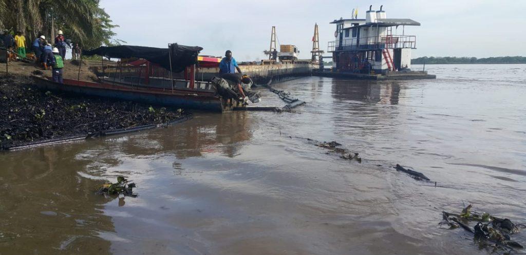 Advierten de un derrame de petróleo en la Isla 6, entre Cantagallo y Puerto Wilches