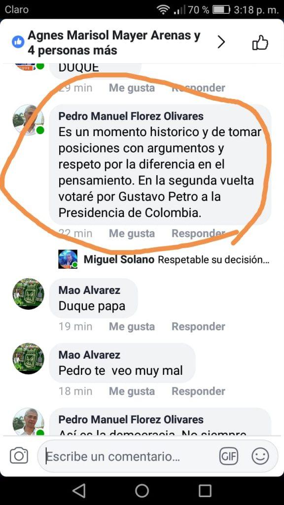 ¿Hay división en Cambio Radical de Barrancabermeja?