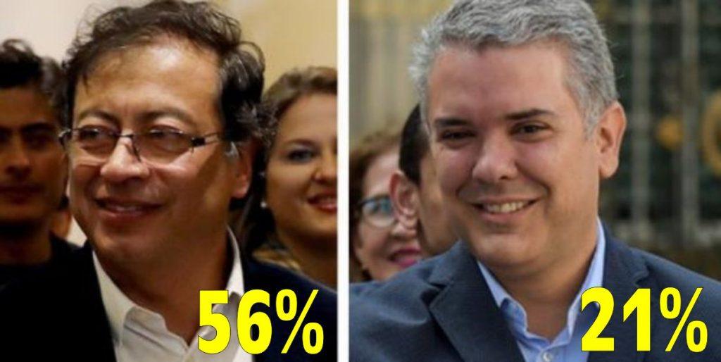 Tendencias - Gustavo Petro en redes sociales es tendencia un 56%