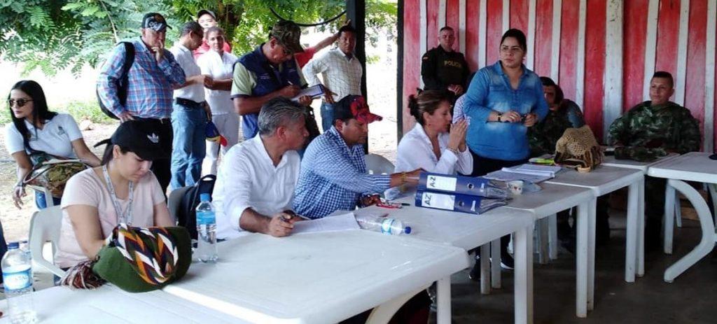 Alcaldía presente en reparación colectiva a los habitantes de Ciénaga del Opón.