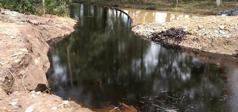 Ecopetrol explica qué sucedió con el otro derrame de crudo en La Fortuna