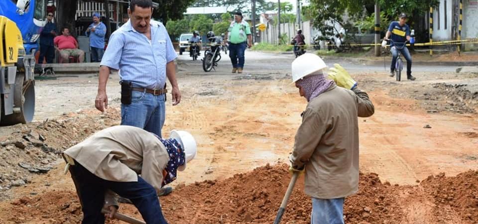 En El Campestre se invierten $570millones en auto pavimentación vial