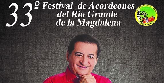 Listo afiche del Festival de Acordeones de B/bermeja en homenaje a Jorge Oñate