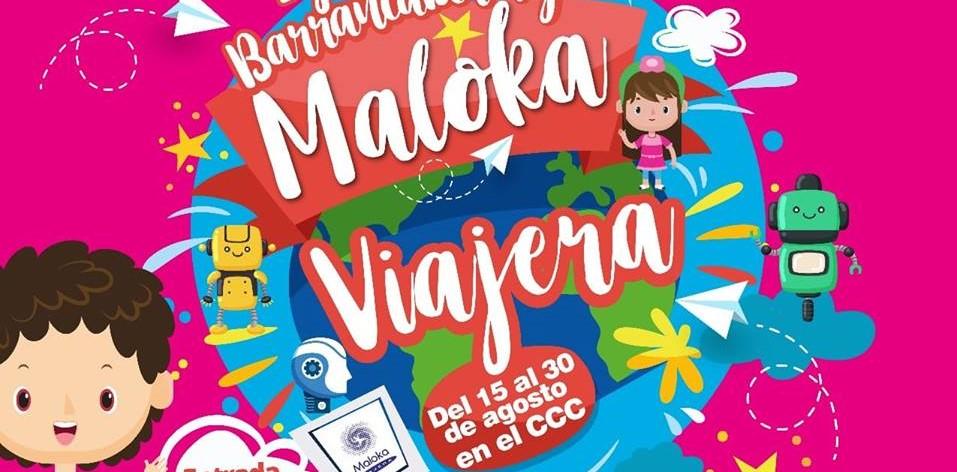 """CCC abre sus puertas para disfrutar """"Maloka Viajera"""" del 15 al 30 de agosto"""