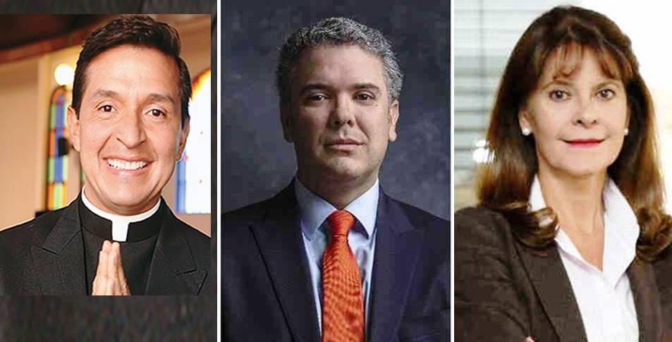 Por supuesta petición de exorcismo a la Casa de Nariño,  Iván Duque y Martha Lucia Ramírez son motivo de burla internacional.