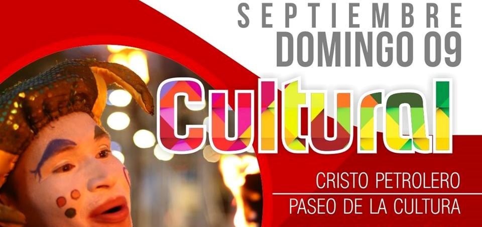 Septiembre cultural en el malecón del Cristo Petrolero y en el Paseo de la Cultura