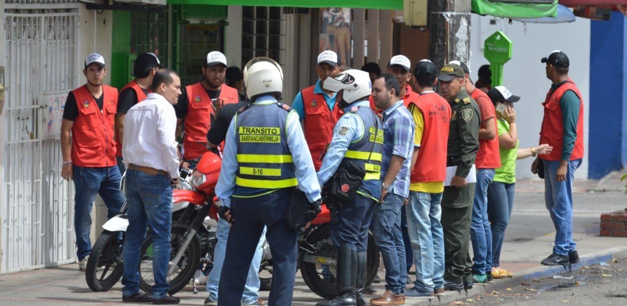 83 vendedores ambulantes han sido caracterizados por los Vigías del Espacio Público