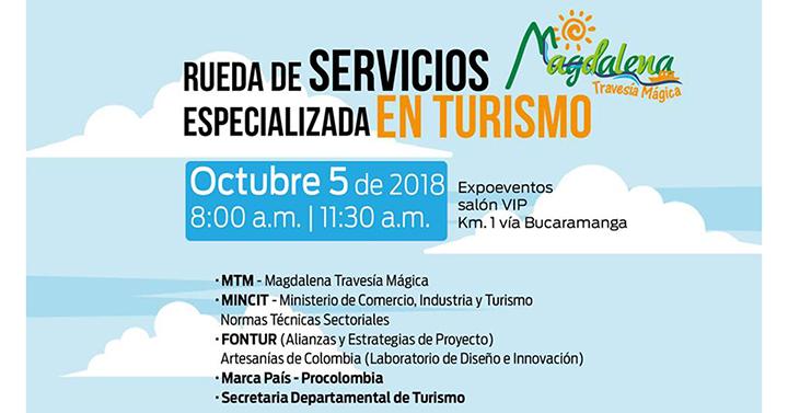Rueda de Servicios Especializada para el sector turístico