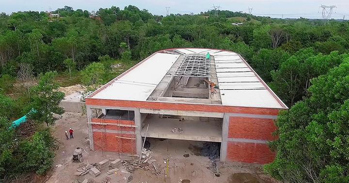 En noviembre se entregará la primera fase del Colegio La Fortuna