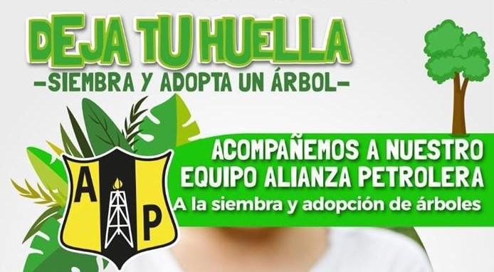 Alianza Petrolera realizará siembra y adopción de árboles en el estadio Daniel Villa Zapata