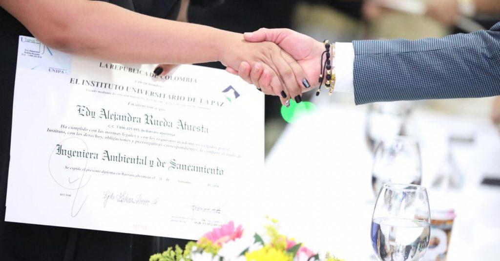 Unipaz: 147 nuevos graduados al servicio de la ciudad, la región y el país