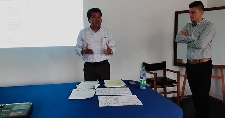 Luis Eduardo Velásquez realizó balance de gestión