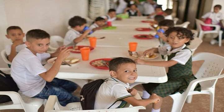 13 mil millones de pesos para alimentación escolar