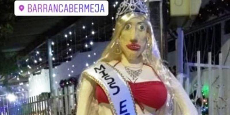 Año viejo de Miss España el más popular en Barrancabermeja