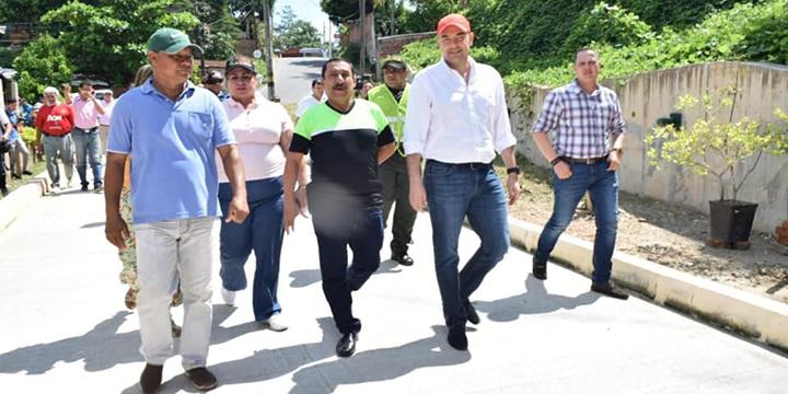 $2.768 millones invirtió el gobierno en obras de infraestructura en el barrio Minas del Paraíso