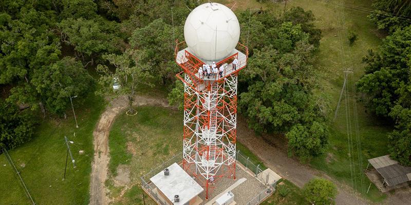 Primer radar meteorológico del IDEAM del nororiente colombiano.