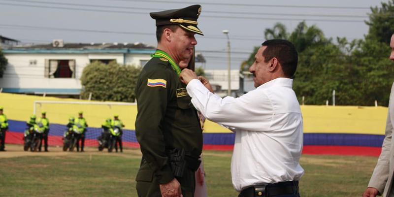 Barrancabermeja despidió al coronel, Roger Martínez Verdugo