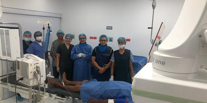Primera angioplastia coronaria en Barrancabermeja