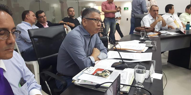 """""""Acueducto de El Llanito es gracias a la gestión del diputado Carlos Alberto Morales"""", dice Arturo Rey"""