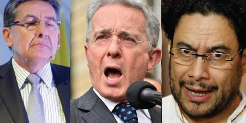 Iván Cepeda instaura denuncia contra el presidente y el fiscal
