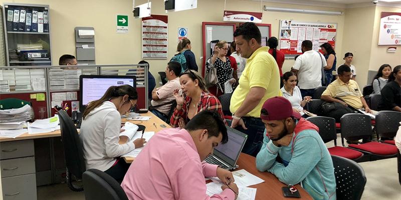 Renovación del registro mercantil creció 7% en Barrancabermeja