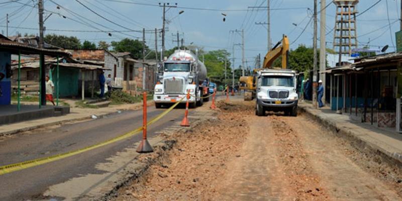 Desde la glorieta a Ferticol hasta la 28, Gobierno anuncia recuperación de malla vial