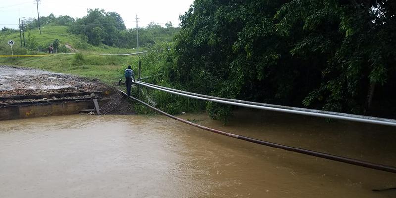 Buscan solución a falta de un puente en campos 13 y 14 en El Centro