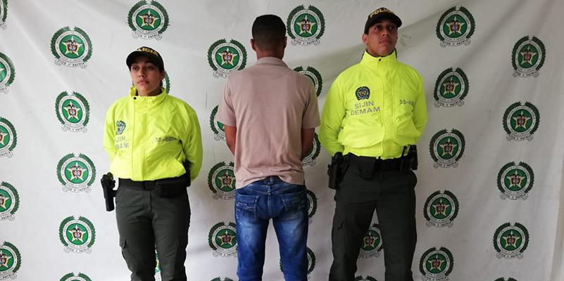 """Capturan a sindicado de tentativa de """"feminicidio"""" en el barrio Arenal"""