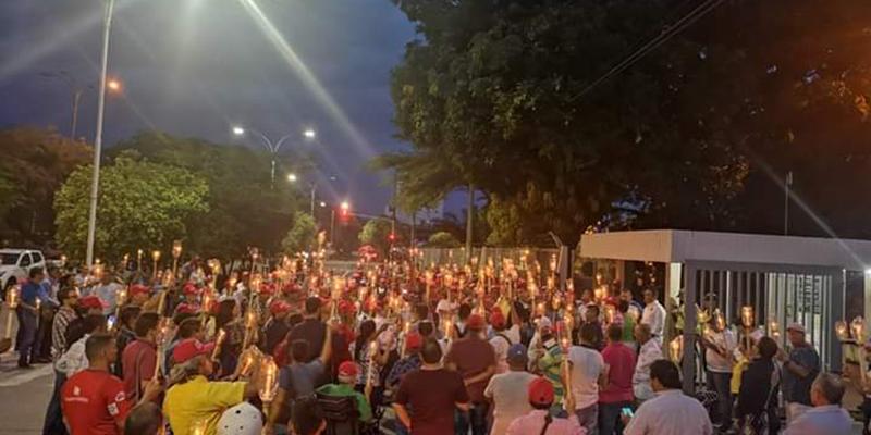 Siguen las protestas por servicios médicos que presta Ecopetrol