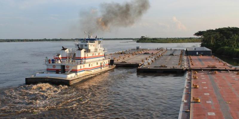 Navieros preocupados por navegabilidad del río Magdalena