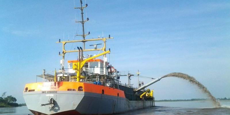 Se invertirán recursos por $ 30 mil millones para dragado en el río Magdalena