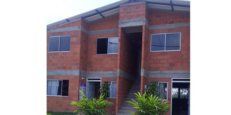 En Yarima construyen viviendas para trabajadores de la palma