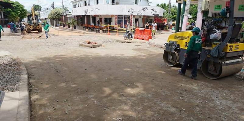 En B/bermeja Infraestructura puso en marcha plan de mejoramiento de la malla vial