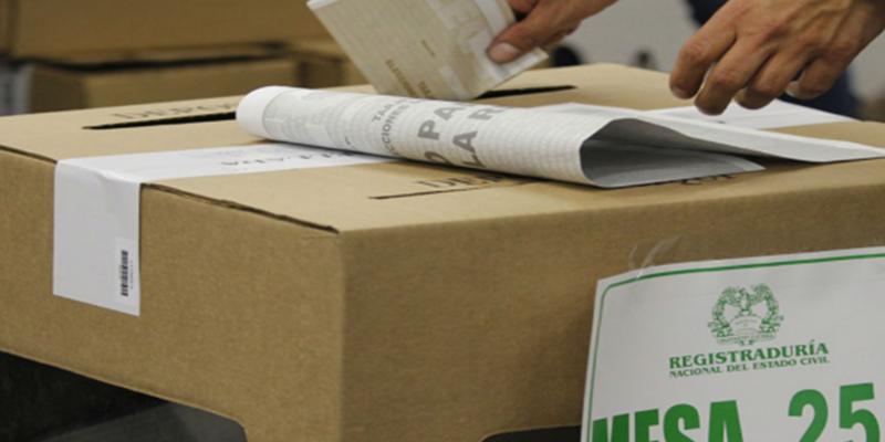 Conozca los 20 puestos de votación donde no habrá inscripción de cédulas