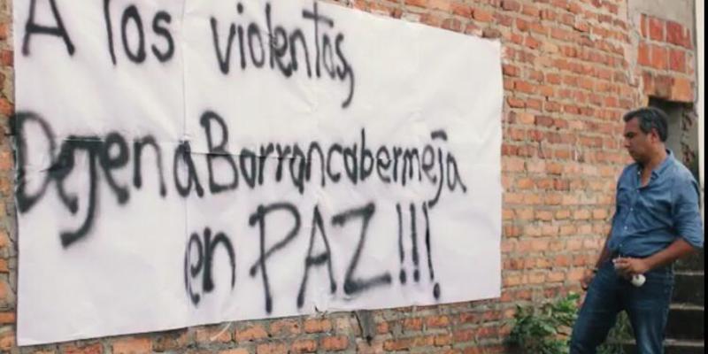"""Alfonso Eljach exige al ELN que """"deje a Barrancabermeja en paz"""""""