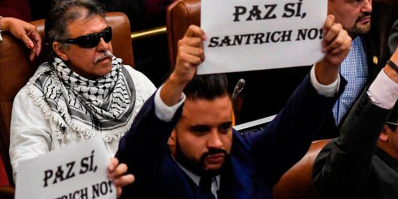 La polémica desaparición de Jesús Santrich