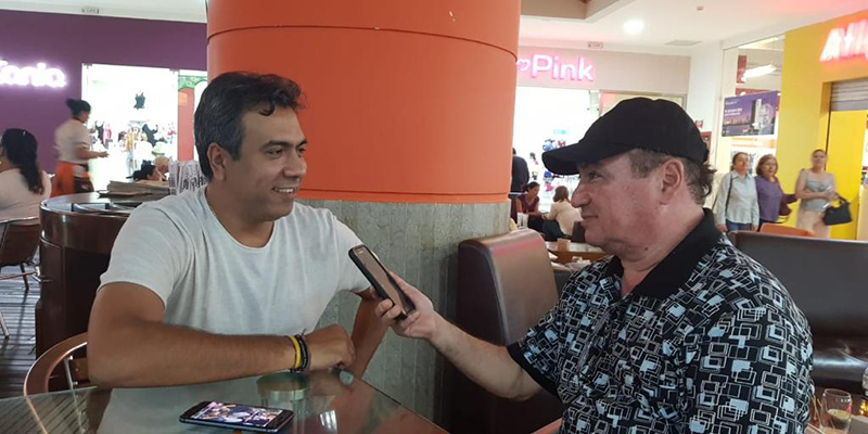 Alfonso Eljach acepta entrevista para Barrancabermeja Virtual