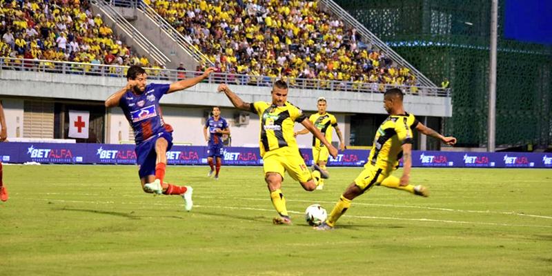 Ganamos en el Daniel Villa Zapata, 1 - 0 al Unión Magdalena