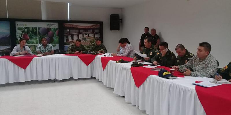 Consejo de seguridad para proteger a candidatos a cargos de elección popular