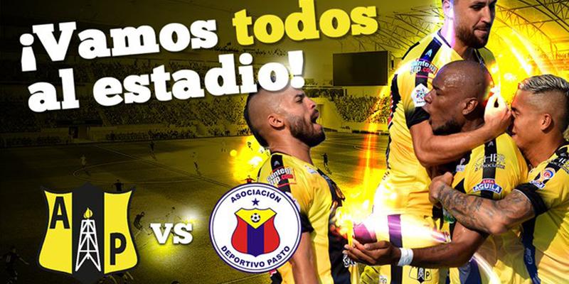 Todo listo el partido de Alianza Petrolera y Deportivo Pasto