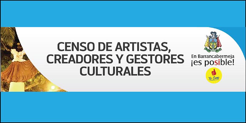 Comenzó el censo para Creadores y Gestores Culturales