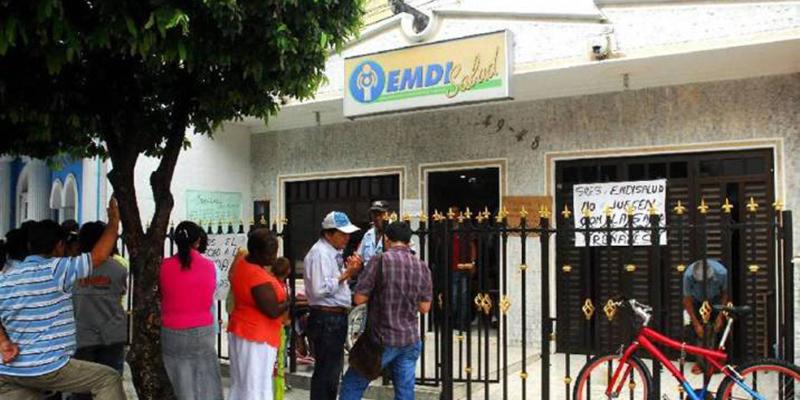 Secretaría Local de Salud llama a la tranquilidad a afiliados de Emdisalud